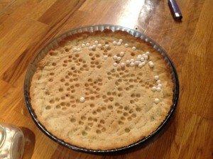 Fond de pâte sucrée 1