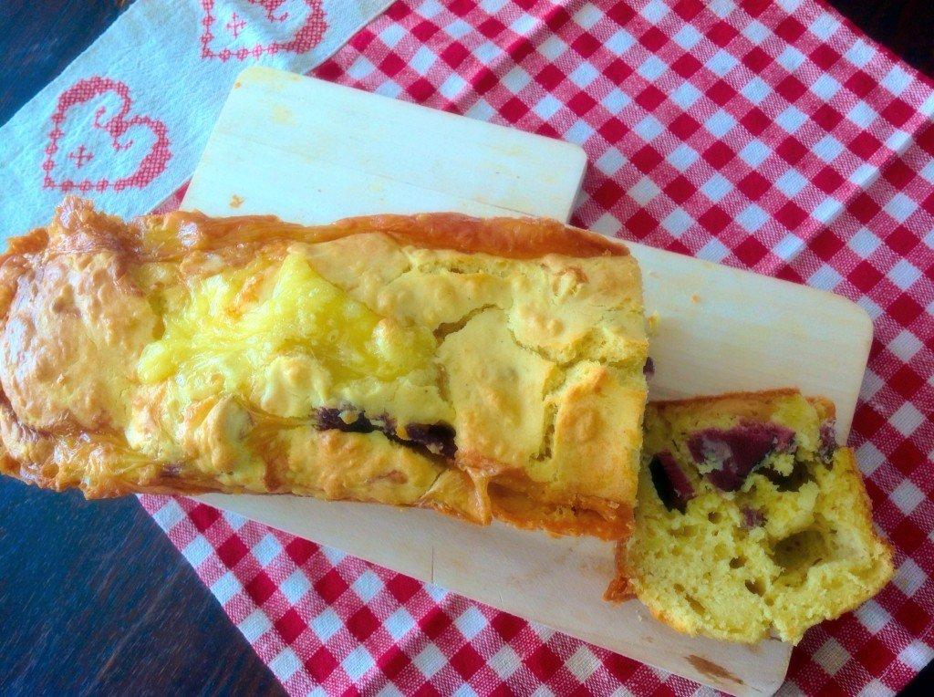 Cake salé camembert canard