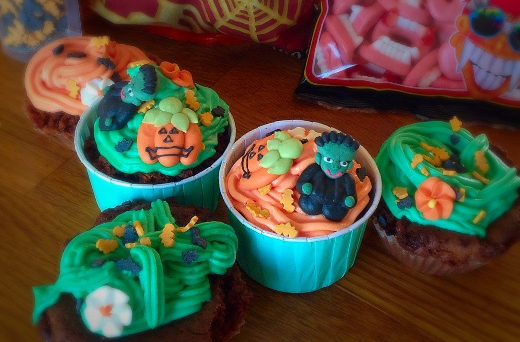 cupcakes Halloween 2014