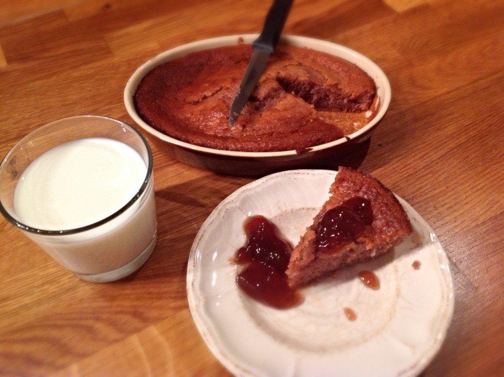 gâteau confiture
