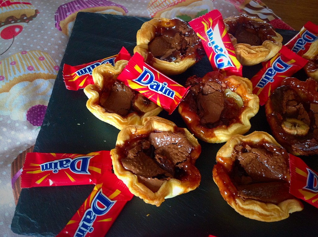 Mini tartelettes express banane daim cuisinedamour - Recette laurent mariotte aujourd hui ...
