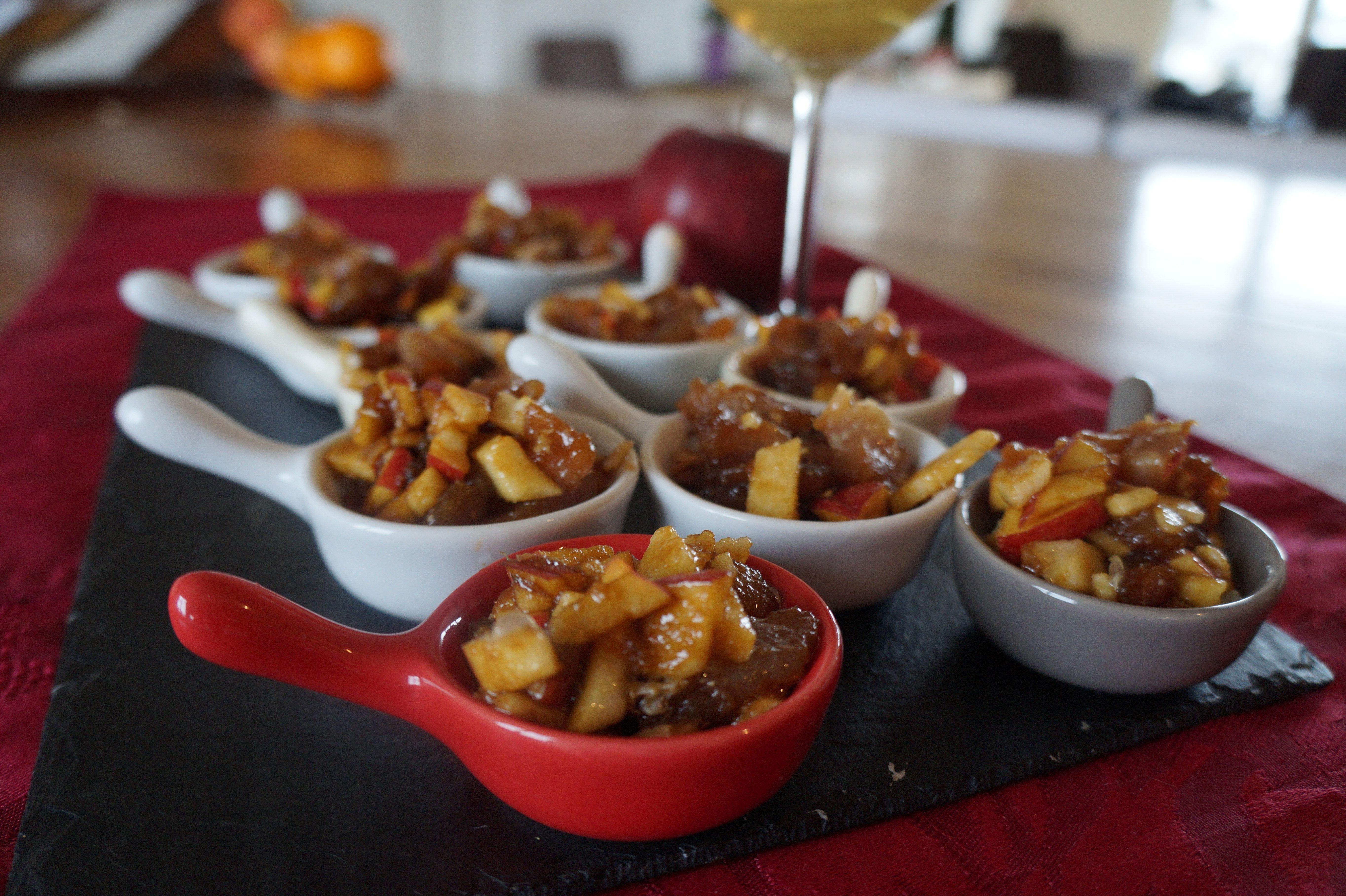 Cuisine Beige Sol Gris : Tartare de thon rouge aux pommes et au sésame  Cuisinedamour