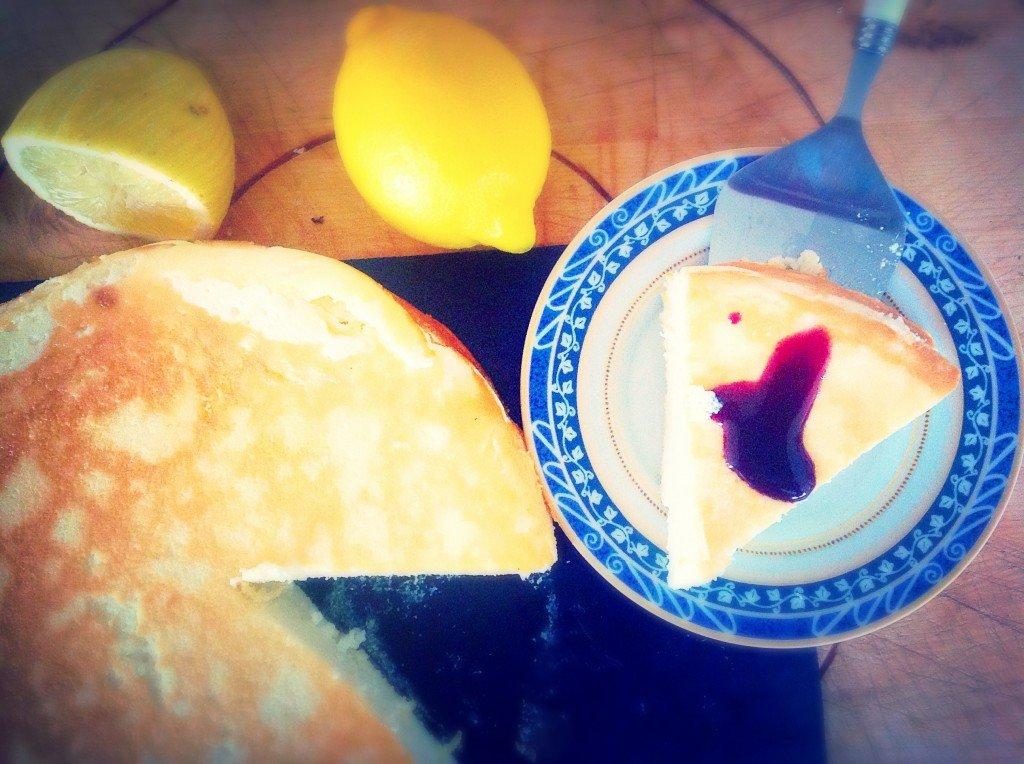 gâteau fromage citron